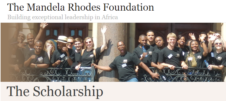 Postgraduate Scholarship for Young African Scholars at Mandela Rhodes Foundation