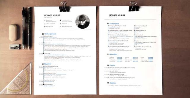 ejemplos  curriculum modernos que querras utilizar