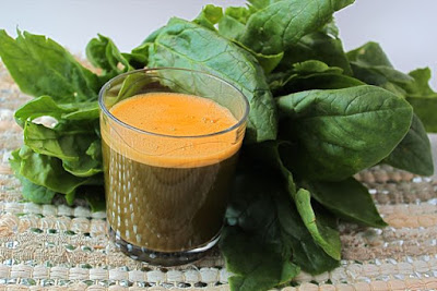 Carrots Spinach Juice