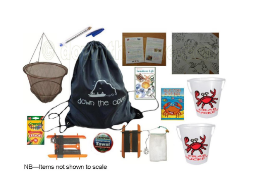 Christmas Gift Ideas for families who love Camping - crabbing kit