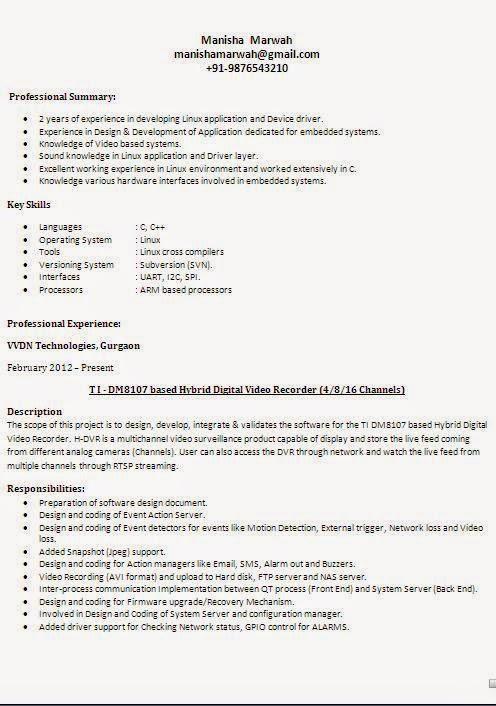 Different Resume Styles Resume Sample