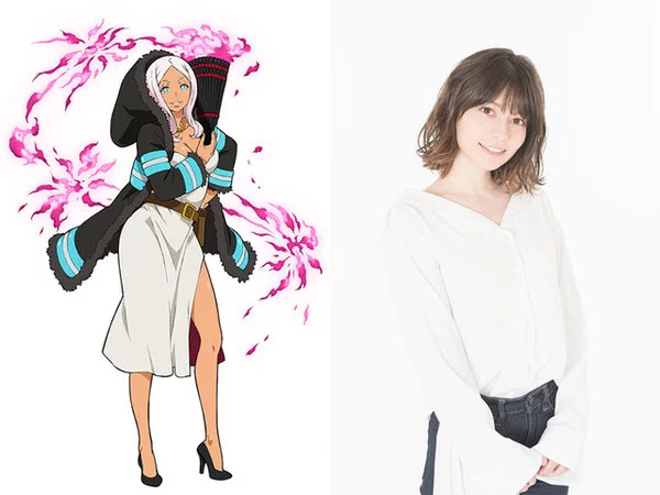 Lynn Memerankan Putri Hibana Pada Anime Fire Force
