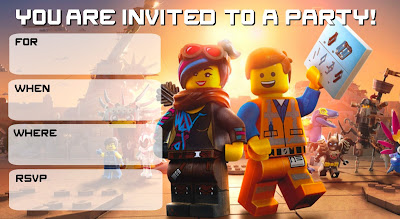 free lego movie 2 the second part birthday printables