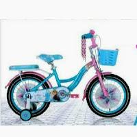 16 element frozen 1 lisensi ctb sepeda anak