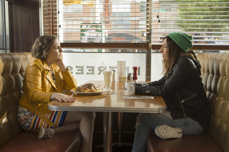 Lena Dunham en un fotograma de Girls de HBO