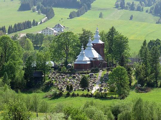 Cerkiew św. Michała Archanioła w Mochnaczce.