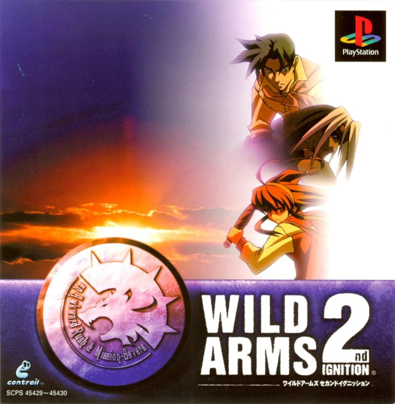 Wild Arms 2 ISO PS1