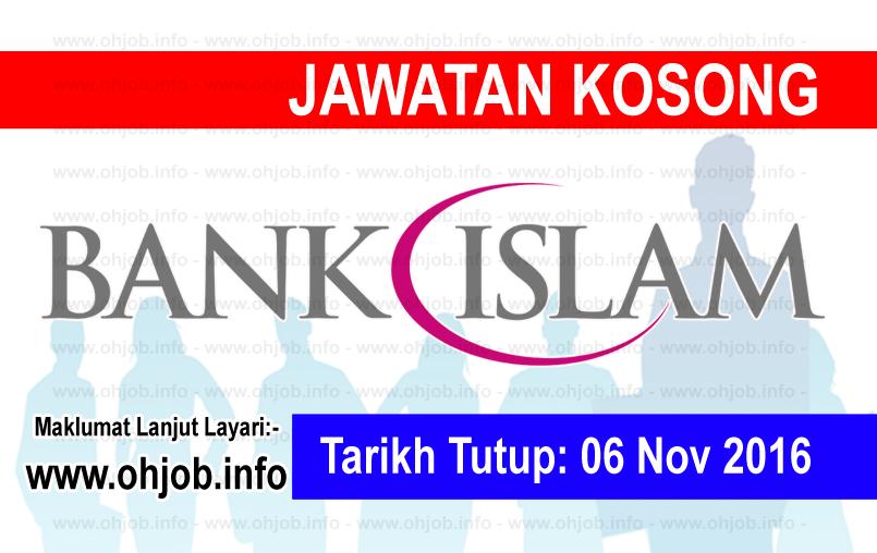 Jawatan Kerja Kosong Bank Islam Malaysia Berhad logo www.ohjob.info november 2016