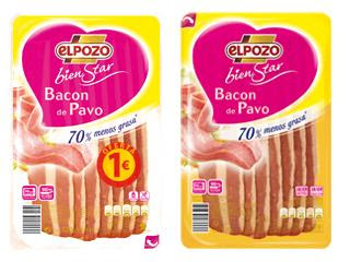 Bacon de pavo