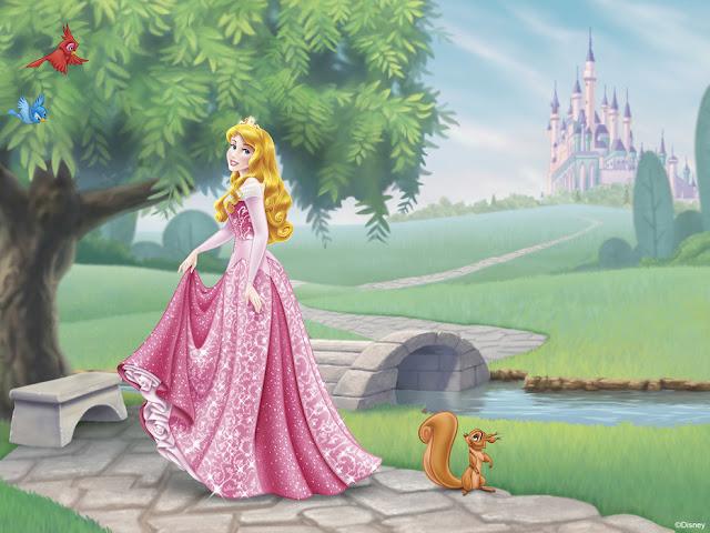 Disney Prinsessa Tapetti Lapset Valokuvatapetti Lapsia Prinsessoja Tyttö huone