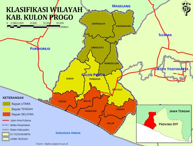 Alasan dan Fakta Nama Kabupaten Kulonprogo
