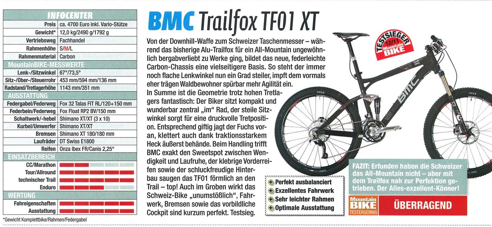 cycling emotion ag bmc trailfox tf01 ist testsieger im. Black Bedroom Furniture Sets. Home Design Ideas