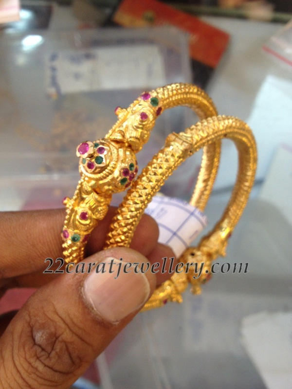 Gold Kankanalu Jewellery Designs