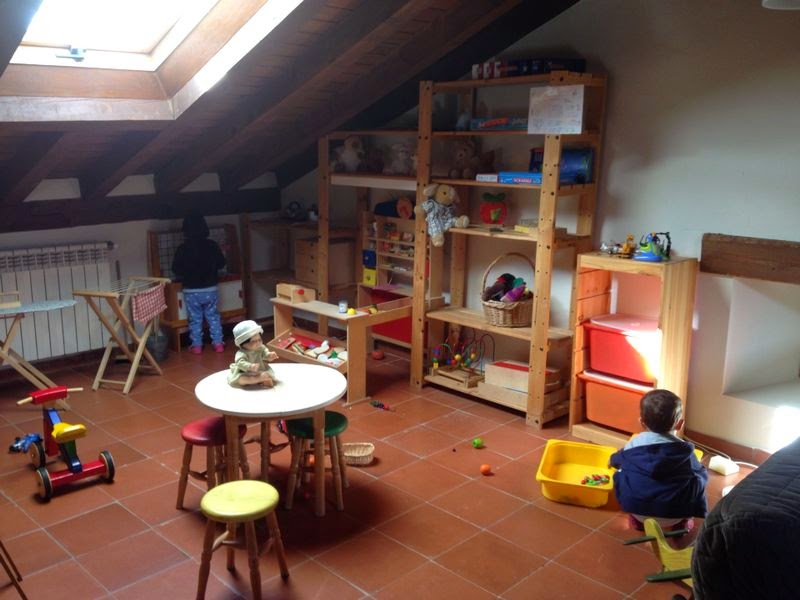 Sala de juegos de la Casa de la Huerta