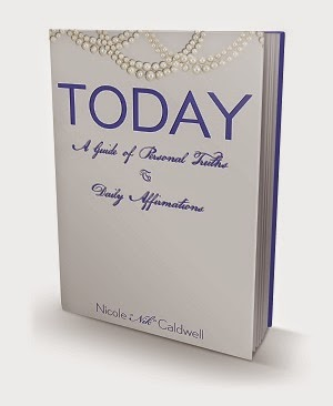 nicole caldwell, nik caldwell, today book, affirmations book