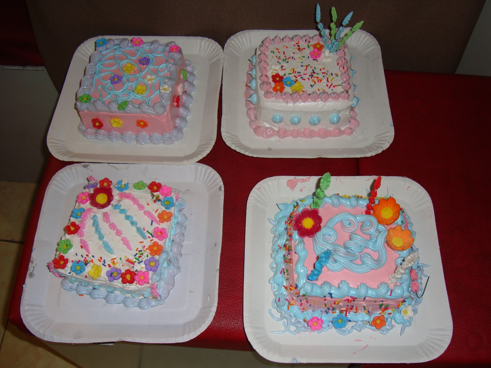 Bake And Decorate A Cake Activity