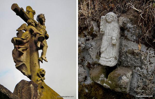 Imagens sacras ao longo do Caminho de Santiago