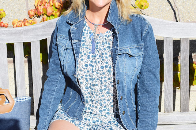 Fashion Friday: End of Summer Outfit Round up #fashionfriday #outfitguide #romper #fashionover50
