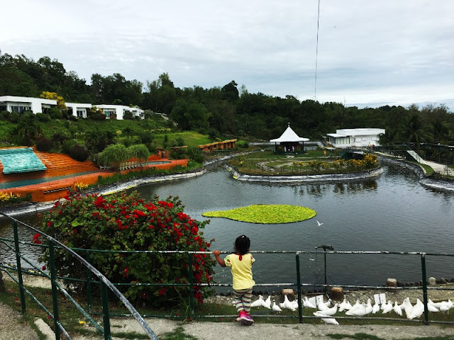 Garinfarm San Joaquin Iloilo. The leisure area of this place is situated uphill nearby the pilgrimage site.