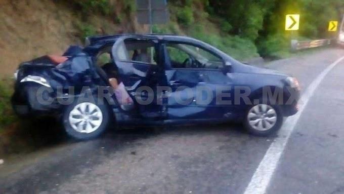 Fatal accidente deja tres muertos y tres lesionados
