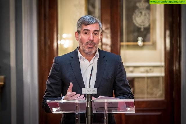 """Clavijo reitera que Canarias necesita """"con urgencia"""" utilizar su superávit para luchar contra el COVID-19"""
