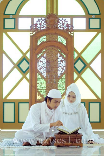 romantisnya pre wedding muslim blog azis grafis rh aziscs1 com