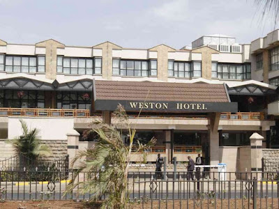 Weston hotel under cholera siege. PHOTO | Courtesy