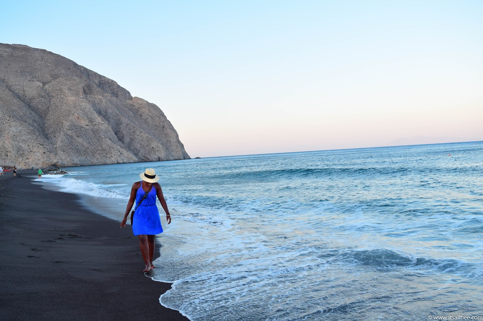 black beach santorini | Guide To The Best of Santorini Beaches