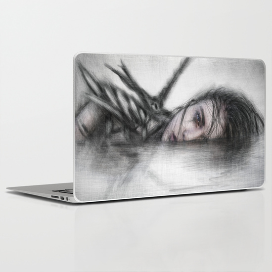 Laptop skin by Justin Gedak from Society6