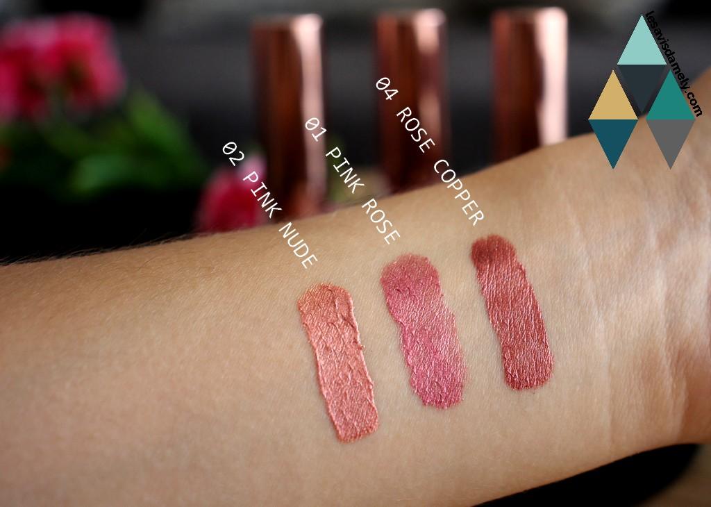 cookies makeup rouge à lèvres swatches beauté lipstick