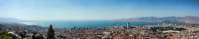 Kadifekale den İzmir