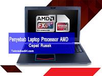Laptop Dengan Spesifikasi AMD Cepat Rusak, Ini Penyebabnya