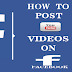 How to Post YouTube Video In Facebook
