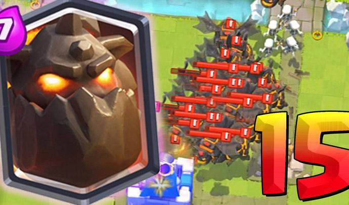 15 Lava Hounds em uma batalha Simultaneamente - 1