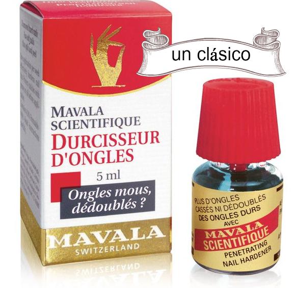 Endurecedores de uñas que funcionan: Mavala y Unglax