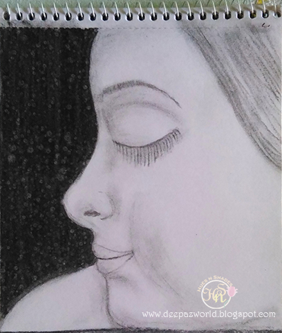 Girl-White--charcoal-HuesnShades