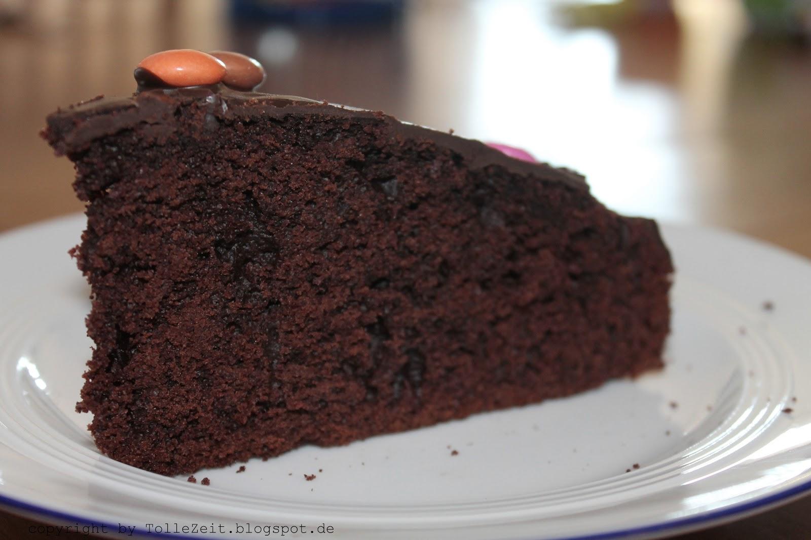 Tolle Zeit Locker Luftiger Schokoladenkuchen