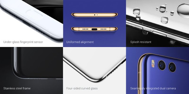 Aside, you can now have a worry-free feeling using your phone in pouring rain, thanks to its new feature splash resistant.  Overall, the design is pretty similar to its predecessor Mi 5 because of the metal and curvy built body.
