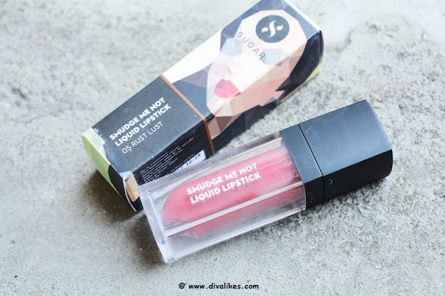 Sugar Cosmetics Smudge Me Not Liquid Lipstick 05 Rust Lust Review