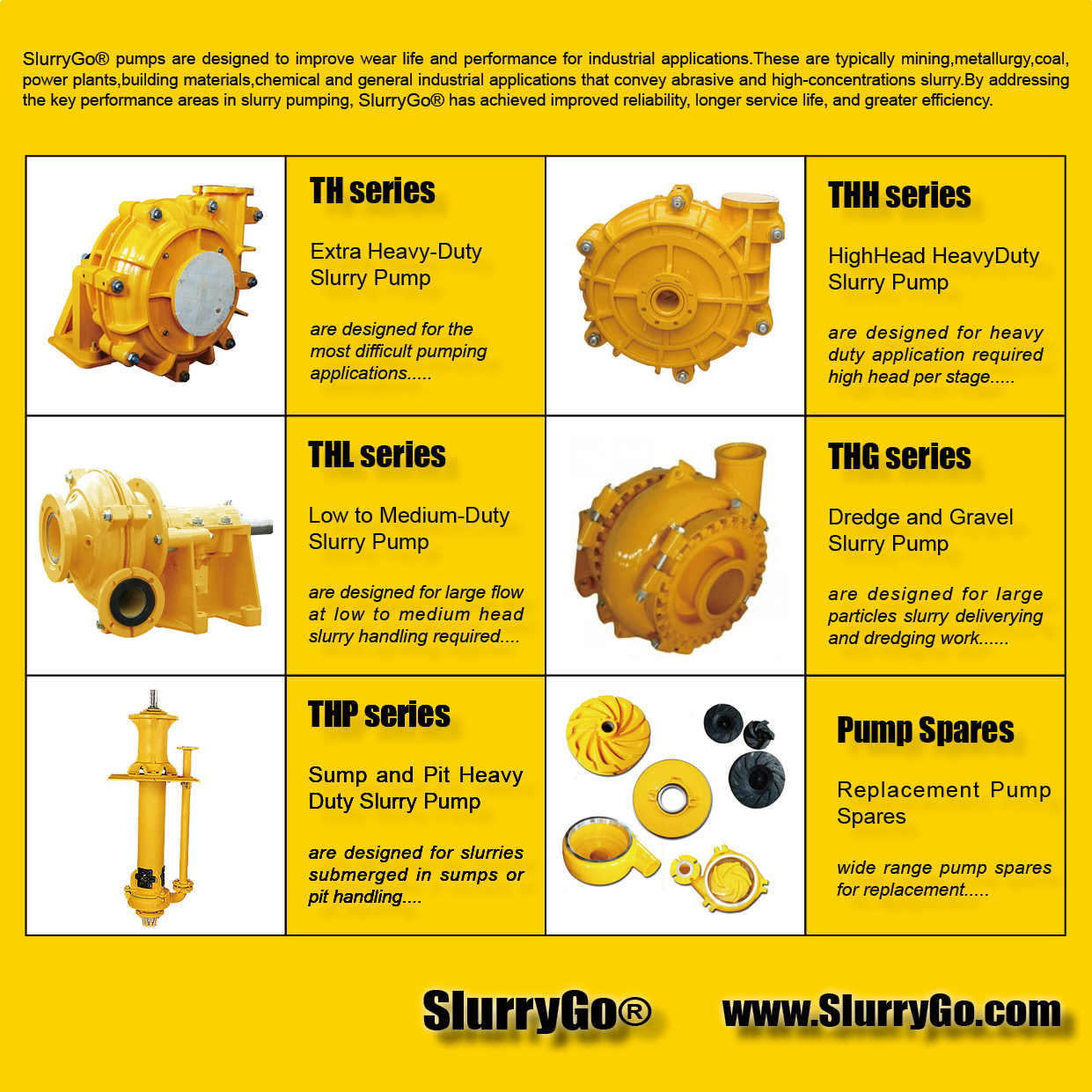 SlurryGo Slurry Pumps Dredging Pumps Replacement Warman