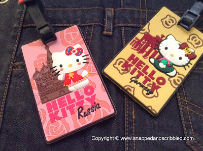 Hello Kitty Bag Tags