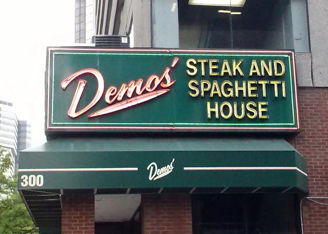 Demos Restaurant downtown Nashville