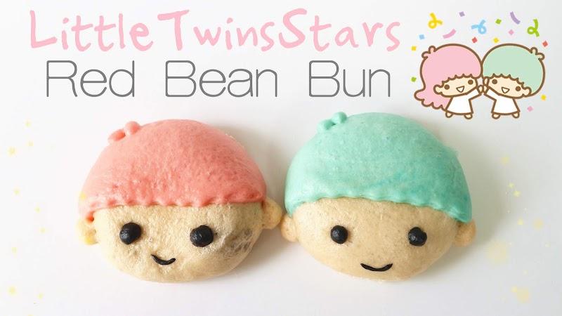 LittleTwinStar Red Bean Bun 雙子星紅豆包
