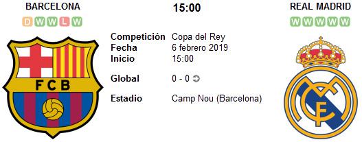 Barcelona vs Real Madrid en VIVO