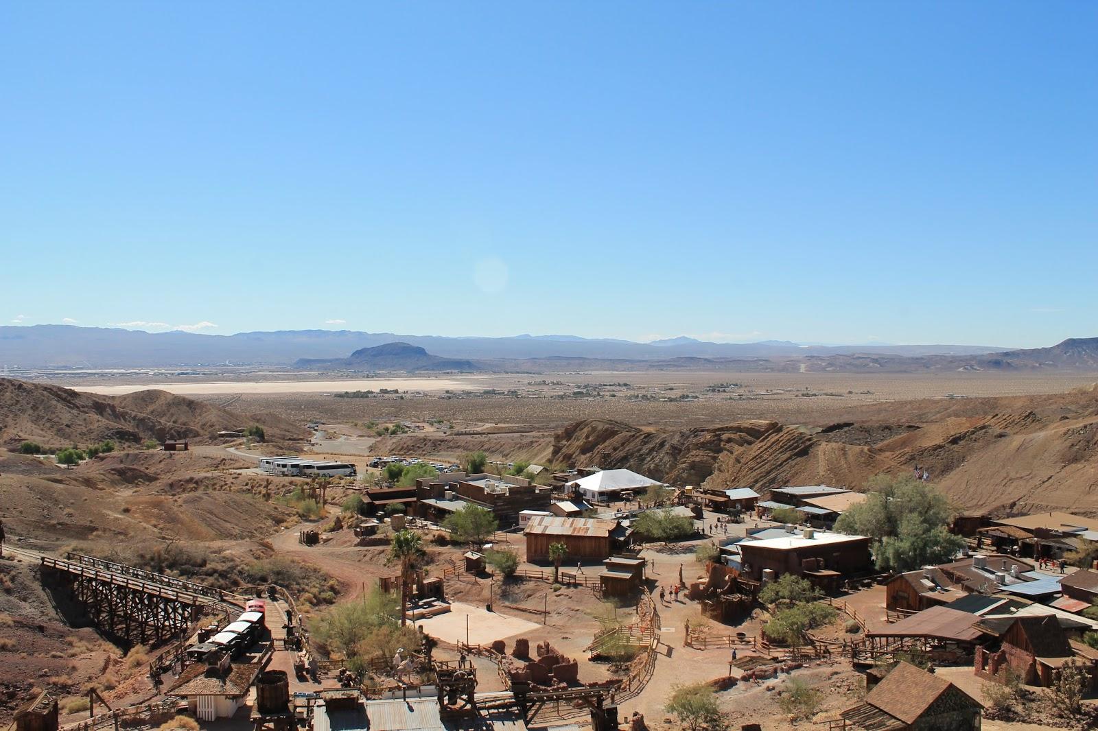 USA états unis amérique vacance transat roadtrip ouest américain calico desert