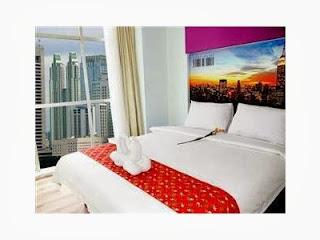 tempat tidur smart hotel di jakarta