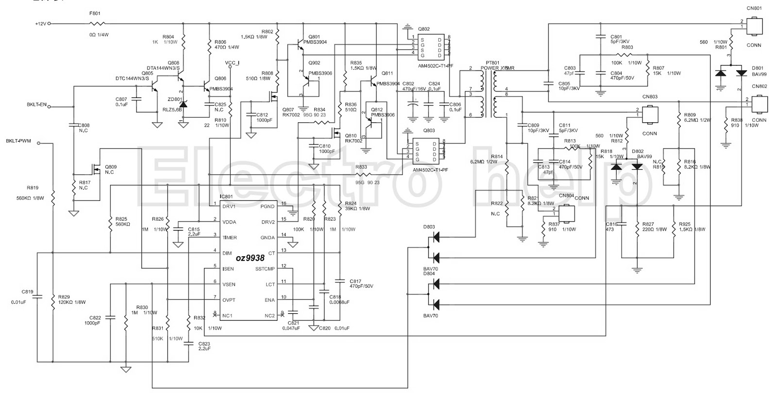 Lcd Screen Schematic