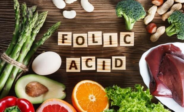 فوائد الفوليك اسيد (فيتامين b9) ، المصادر الغذائية ، نقصه وسميته