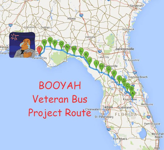 Day 8 - Booyah Veteran Bus Project - A Day Of Rest