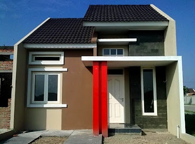 Rumah minimalis tampak depan